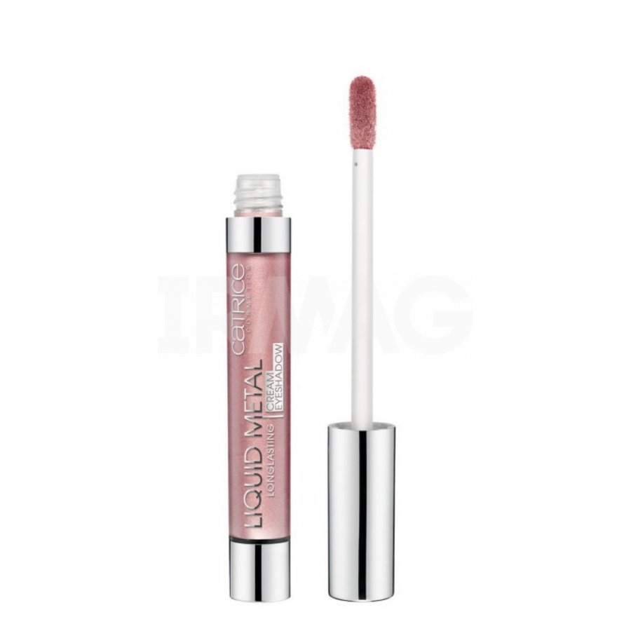 Тени для век кремовые Catrice Liquid Metal Longlasting cream eyeshadow 030 Daily Dose Of Rose розовый