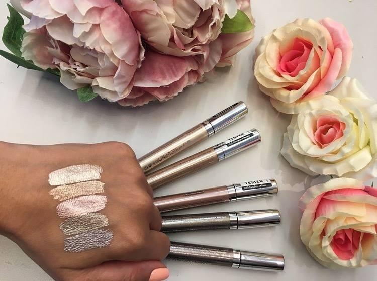 Тени для век кремовые Catrice Liquid Metal Longlasting cream eyeshadow 030 Daily Dose Of Rose розовый