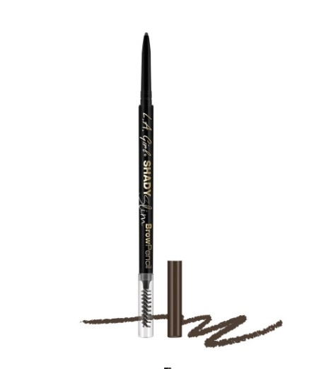 Ультра-тонкий карандаш для бровей L.A. Girl Shady Slim Brow Pencil    Brunette