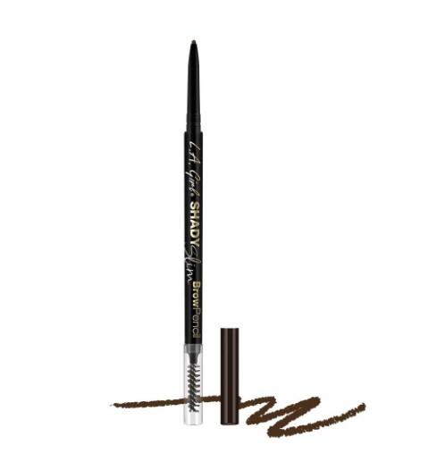 Ультра-тонкий карандаш для бровей L.A. Girl Shady Slim Brow Pencil    Espresso
