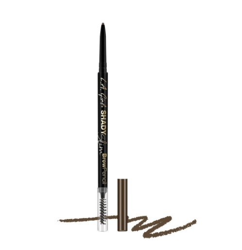 Ультра-тонкий карандаш для бровей L.A. Girl Shady Slim Brow Pencil    Medium Brown