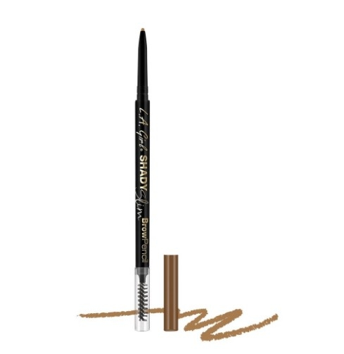 Ультра-тонкий карандаш для бровей L.A. Girl Shady Slim Brow Pencil    Taupe