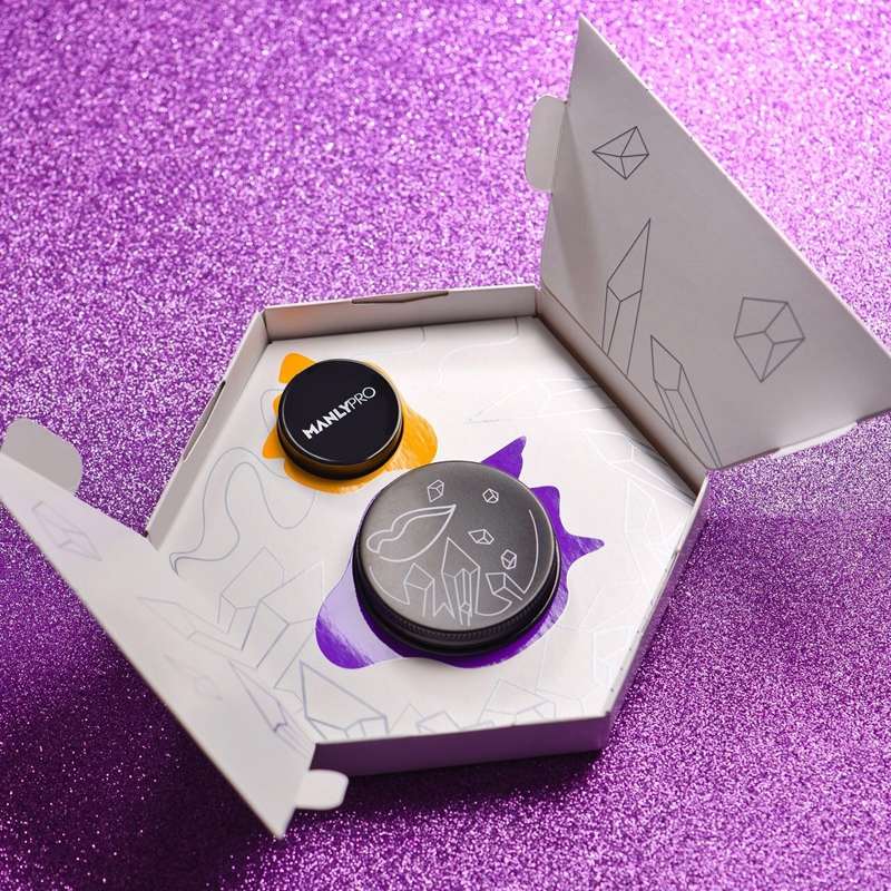 Лимитированный набор - Экспресс-маска + Смягчающий бальзам для губ Manly PRO