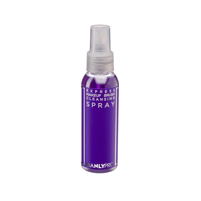 Экспресс-очиститель кистей для макияжа с антибактериальным эффектом Manly PRO 100мл