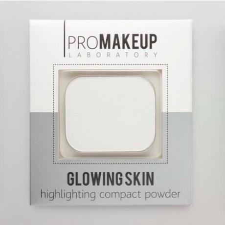 Хайлайтер Glowing Skin PROMAKEUP laboratory тон 101 белый