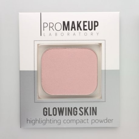 Хайлайтер Glowing Skin PROMAKEUP laboratory тон 102 розовый