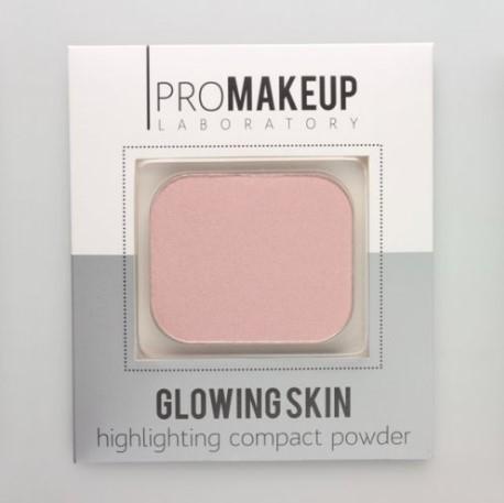 Хайлайтер Glowing Skin PROMAKEUP laboratory тон 102 розовый