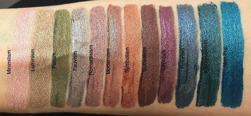 Жидкие тени для век Sleek MakeUp I-art precision liquid eye colour Neo Pop 1133