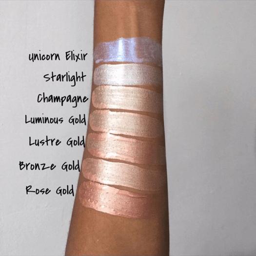 Жидкий хайлайтер REVOLUTION Makeup Liquid highlighter Liquid Luminous Gold