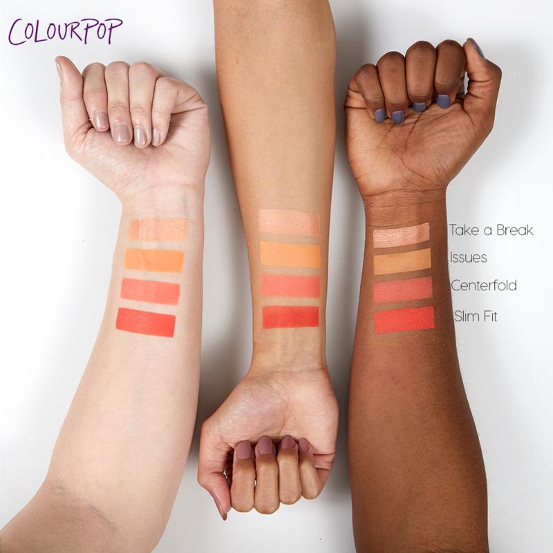 Прессованные тени ColourPop Issues