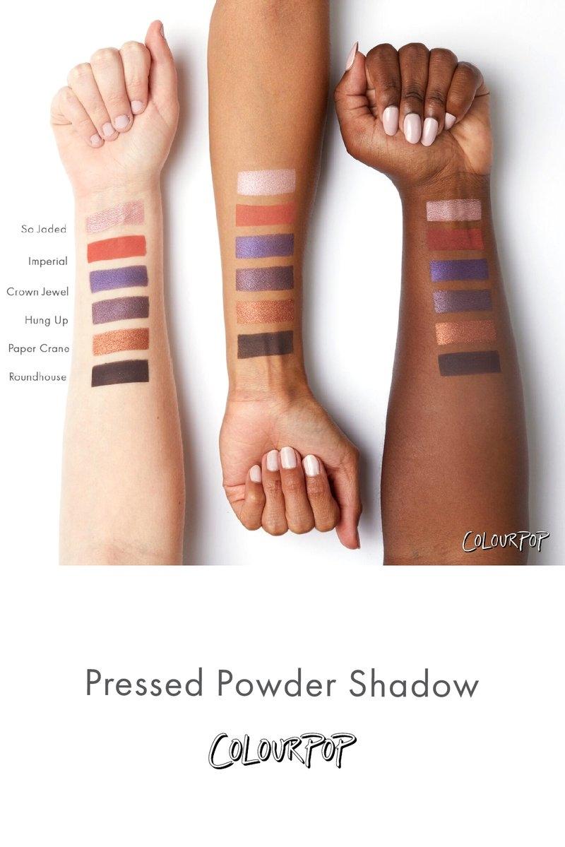 Прессованные тени ColourPop Crown Jewel