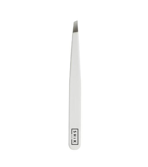 Пинцет SHIK Eyebrow Tweezers (белая ручка)