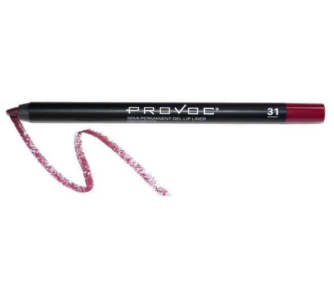 Provoc Gel Lip Liner 31 Vixon Гелевая подводка в карандаше для губ  (цв. темно-вишневый)