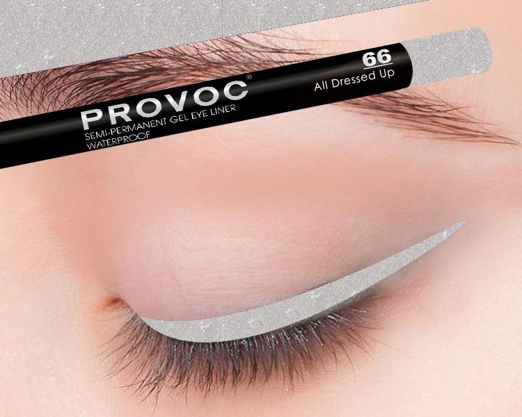 Provoc Gel Eye Liner 66 AII Dressed Up Гелевая подводка в карандаше для глаз (цв.)