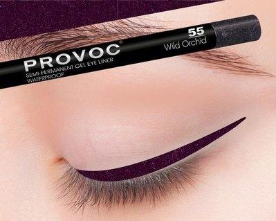 Provoc Gel Eye Liner 55 Wild Orchid Гелевая подводка в карандаше для глаз (цв. темный аметист)