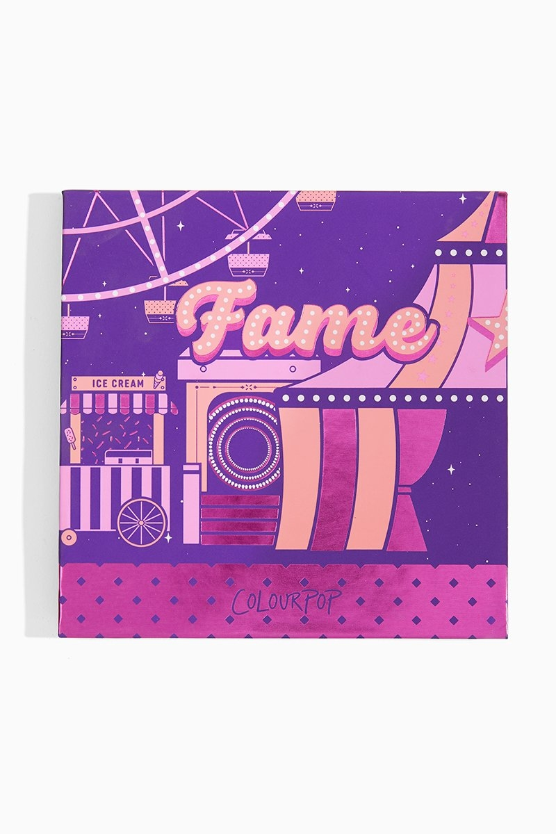 Fame Палитра теней ColourPop