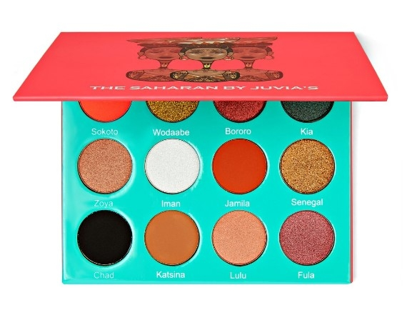 Палитра теней Juvia's Place The Saharan Palette