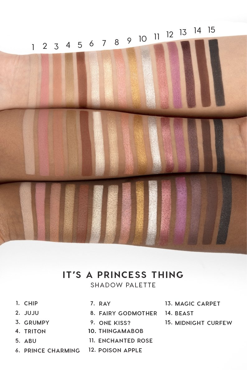 It's a Princess Thing Палитра теней ColourPop
