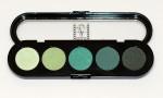 Т29. Тени прессованные палитра Make-up Atelier Paris 5 цв. весенние тона (29)