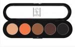 Т02. Тени палитра Make-up Atelier Paris 5 цв. теплые тона (02)